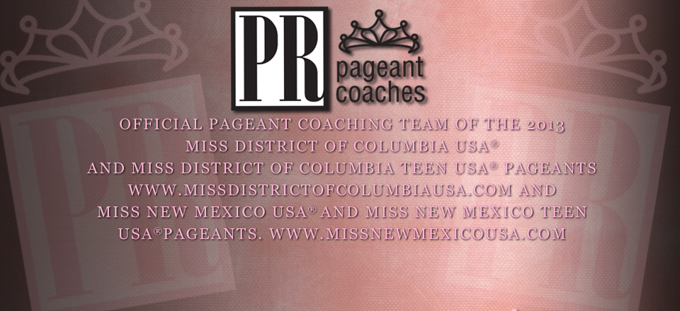 Official Pageant Coaching Teams : Click Here